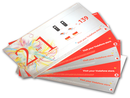 Vodafone Voucher 2 for 1
